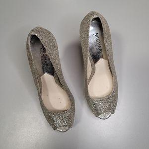Michael Kors special occasion peeptoe Heels Shoes